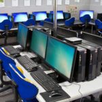Computer lab at STMCPS